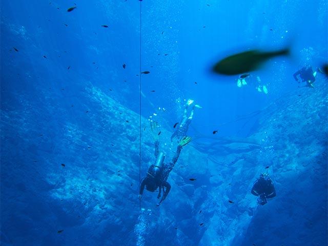 Lagoa Misteriosa - Mergulho com Cilindro