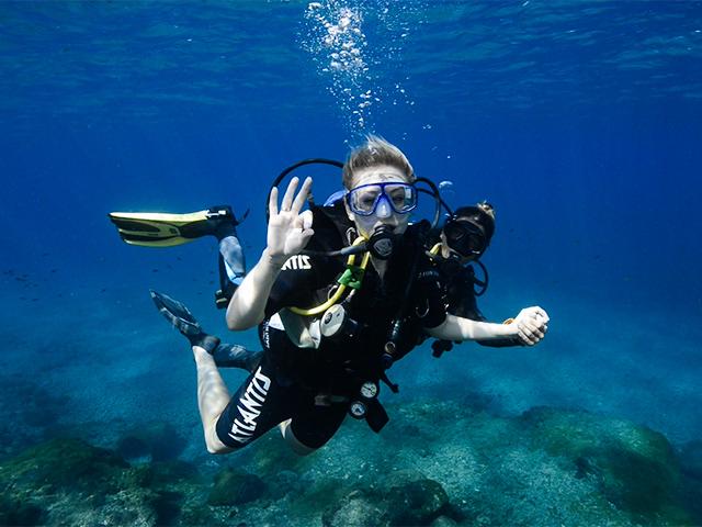 Mergulho Batismo  - fernando-de-noronha