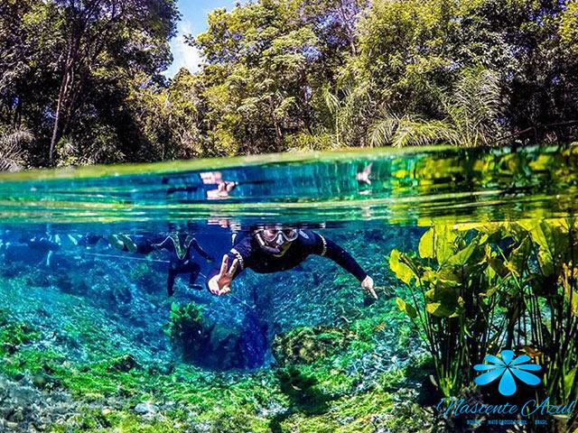 Nascente Azul - Flutuação + Balneário