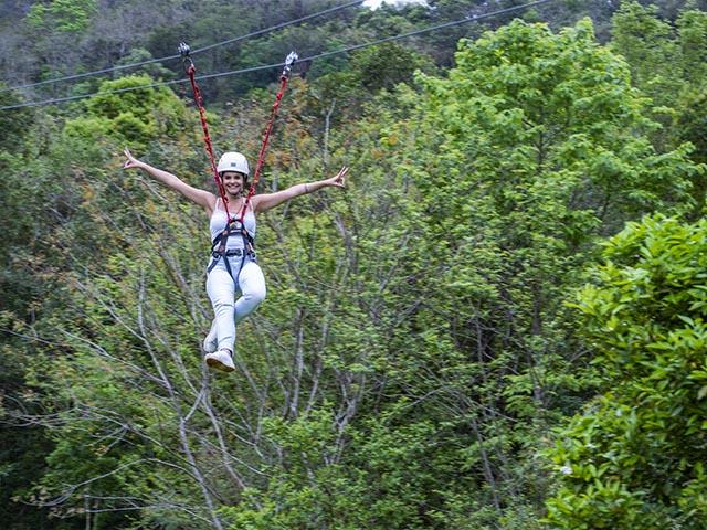 Raft Adventure Park - Tirolesa - serra-gaucha