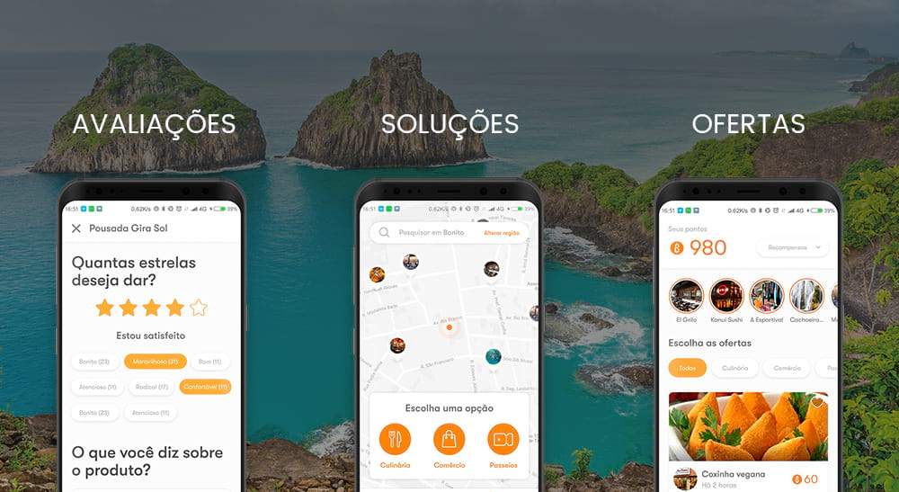 Aplicativo Bonitour: novas funcionalidades para organizar a sua viagem - bonito