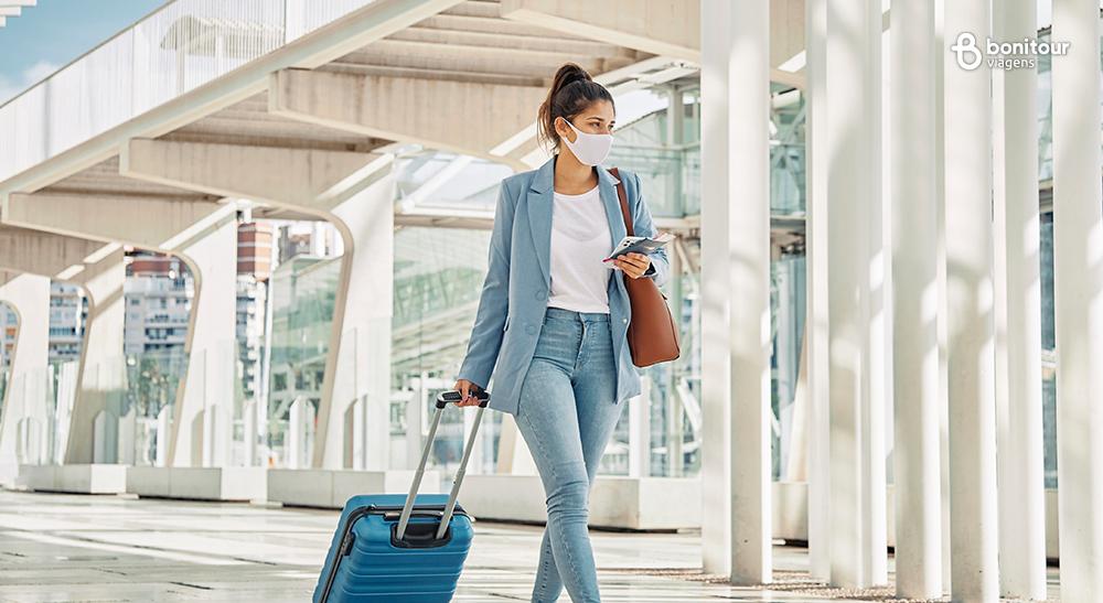 Novo normal em viagens: como viajar com segurança - bonito